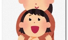 女の子と母親