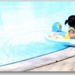 子供がプールで日焼け!対処法は?日焼け止めは使っていい?