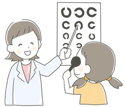 子供の視力検査